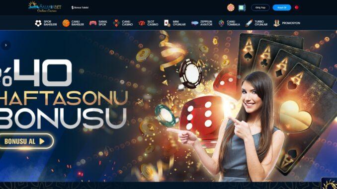 Salamisbet casino slot para çekme